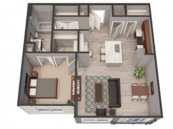 1A-Alt Floor Plan |Lofts at Zebulon