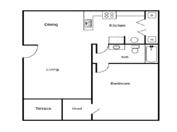 A1 Floor Plan  Village Place