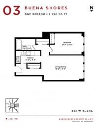 Buena Shores - One Bedroom