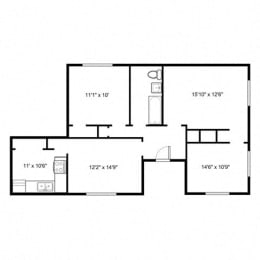 Hamilton Place - Floorplan