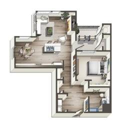 Floor Plan Tahoe