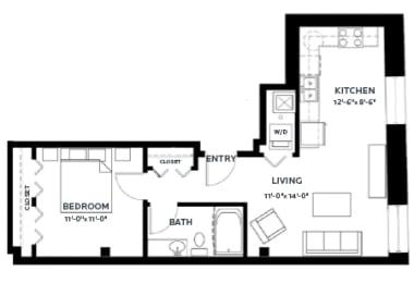 Floor Plan Track 1 (Lofts)