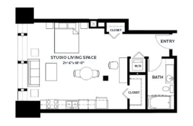 Floor Plan Stone 4 (Lofts)
