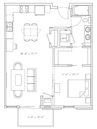 Floor Plan Piccadilly