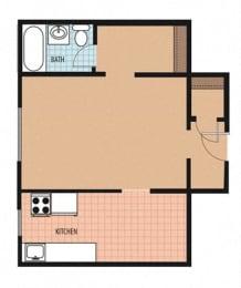 Lamont I Floor Plan at Park Marconi, Washington