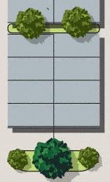 Floor Plan  Studio, Site Plan Floor Plan at Valley Ridge Rental Homes at 8671 SW Loop 410, San Antonio, Texas 78242