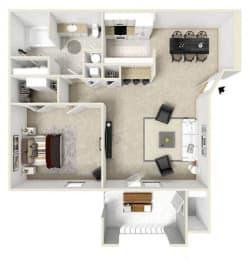 Floor Plan  apartments shreveport la