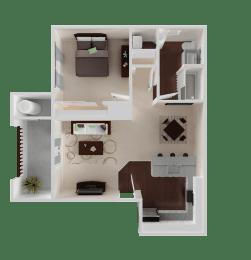 The Oaks at Hackberry | Apartments | Floorplan