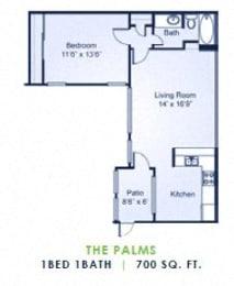 Floor Plan The Palms
