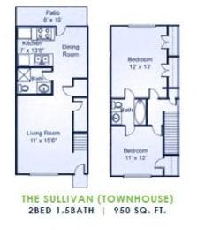 Floor Plan The Sullivan