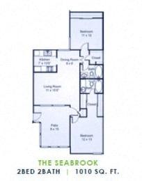 Floor Plan The Seabrook