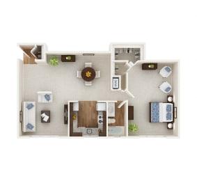 Floor Plan The Bosley