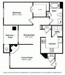 Floor Plan  Floorplan at Windsor at Main Place, Orange, CA, 92868