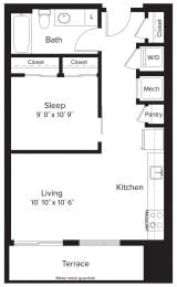 Floor Plan AJ1A