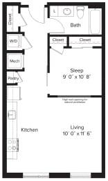 Floor Plan AJ1B