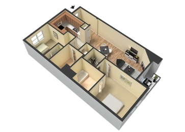 Furnished Units Available at Le Blanc Apartment Homes, Canoga Park, CA, 91304