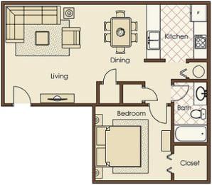 1 bedroom, apartments, rentals, Greenville, SC