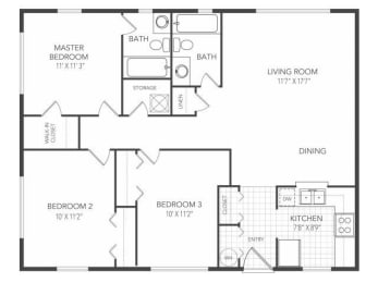 Floor Plan Beacon