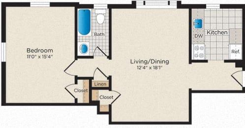 Floor Plan A02 - North