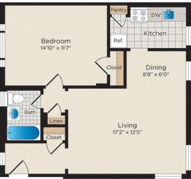 Floor Plan A04 - West