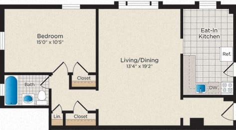 Floor Plan A05 - North