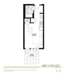 Floor Plan at Concord