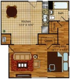 Studio apartments for rent in Norfolk VA