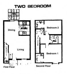 Forest Court Apartments Floor Plan