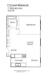 Cedar Manor Apartments in Bloomington