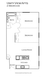 Unity View Apartments floorplan