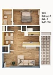 Floor Plan Coral