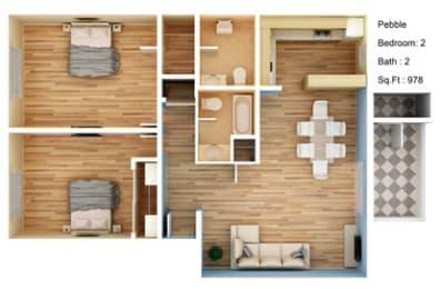 Floor Plan Pebble