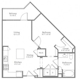 Floor Plan A1BHC