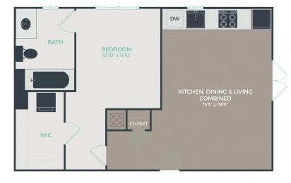 Floor Plan A1-B