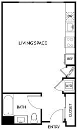 Floorplan Studio B
