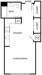 Floorplan Studio C