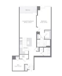 Floor Plan AD04 Den