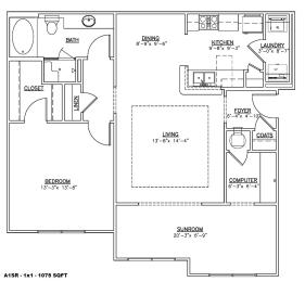 Floor Plan A1SR