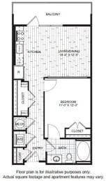 Floor Plan  A3 Floor Plan at Windsor CityLine