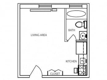 Floor Plan BLUE DRAGON