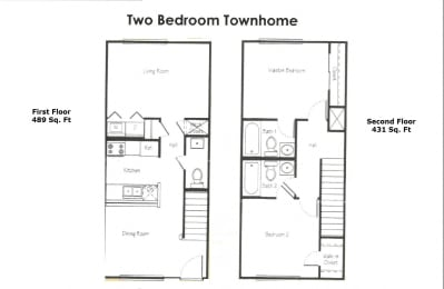 Franklin Place 2 Bed Townhome