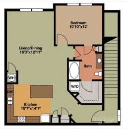 Floor plan at Grand Oak at Town Park, Smyrna,Tennessee
