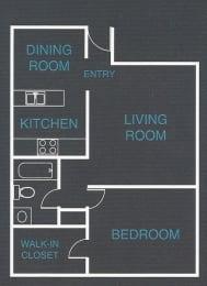 Floor Plan  2300 West Nevada Floor Plan A