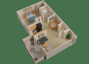 Floor Plan Astor