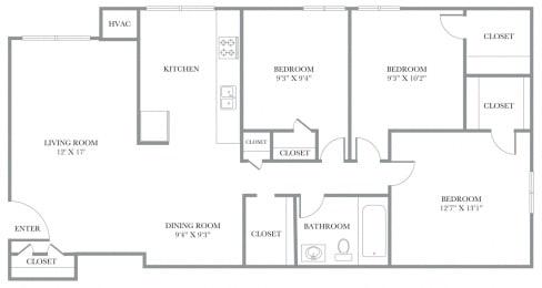Floor Plan Newport