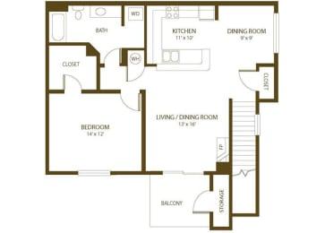 Floor Plan Merganser