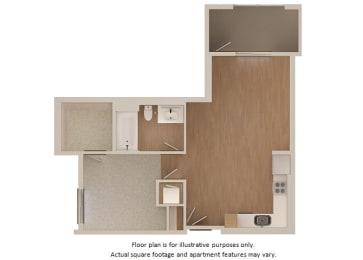 Floor Plan  Floor plan at Malden Station by Windsor, California, 92832