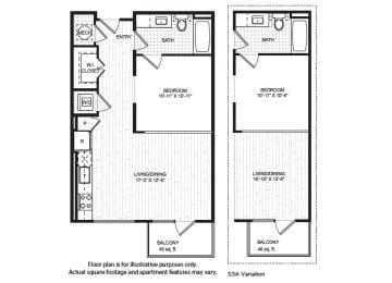 Floor Plan  S3(2) Floor Plan at Windsor Old Fourth Ward, Atlanta, GA