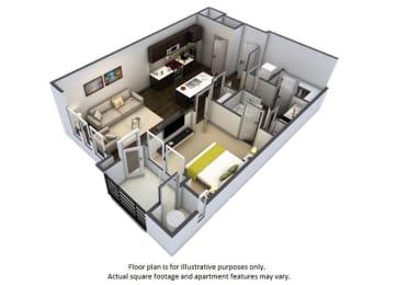 Floor Plan  Floor Plan at Windsor at Pinehurst, Lakewood, 80235