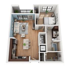 Floor Plan at Azul Baldwin Park, Orlando, 32814